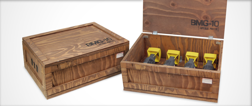 Black Market Goods Wooden Box / Beer Packaging
